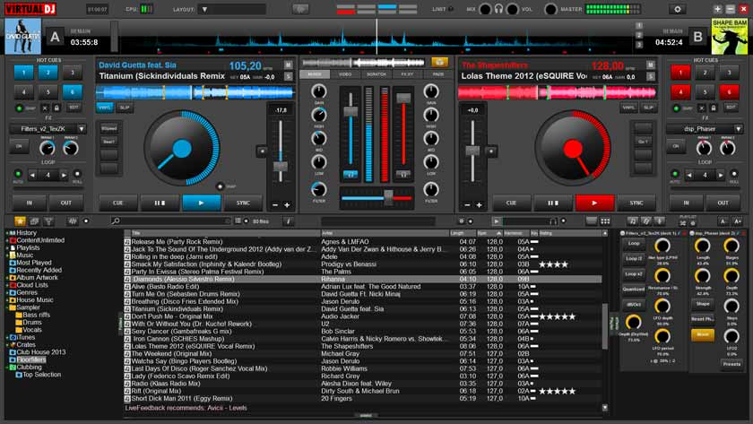 Virtual DJ Home | Free Program That Plays a Professional DJ Console on Your PC