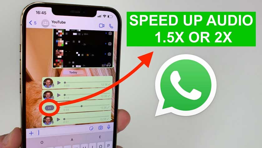 How to Speed Up WhatsApp Voice Messages