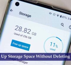 Free Up Storage Space Without Deleting Apps