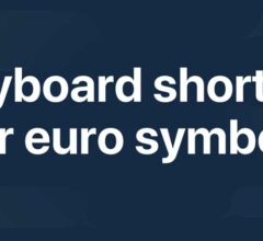 How to Type the Euro Symbol on the Keyboard?