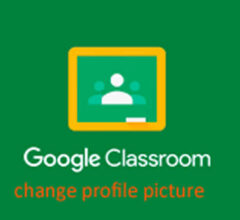 How to Change Profile Photo in Google Classroom