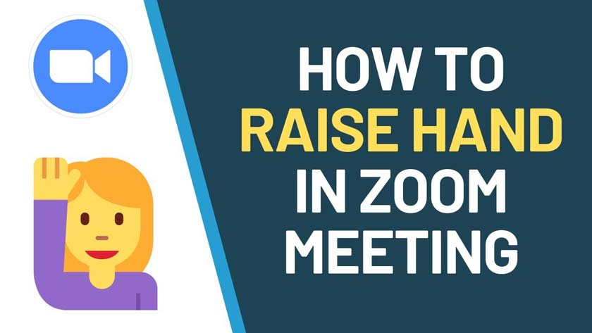 How to Raise Your Hand in Zoom Meeting