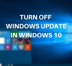 VariousWays to Turn Off Windows 10 Update