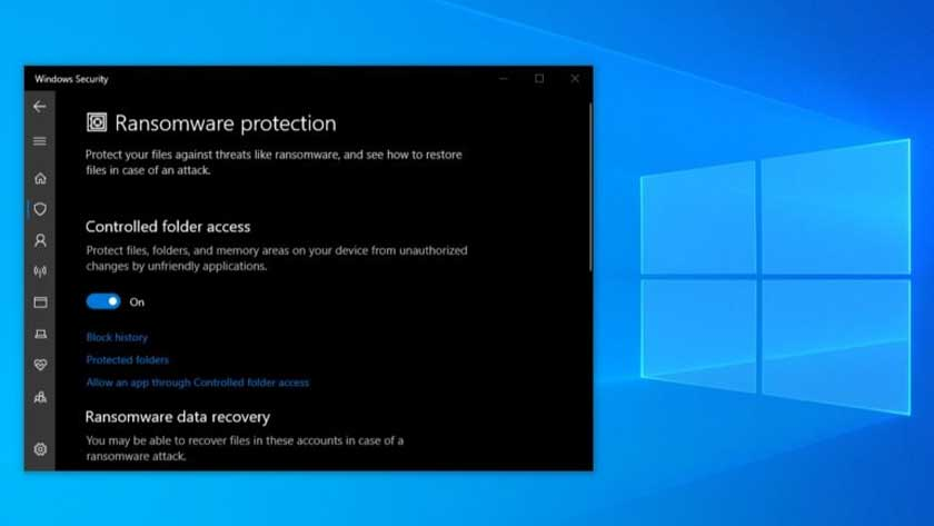How to Enable Windows 10 Ransomware Protection