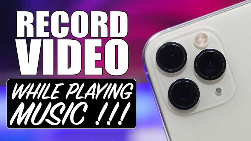How to Record a Video With Music on iPhone