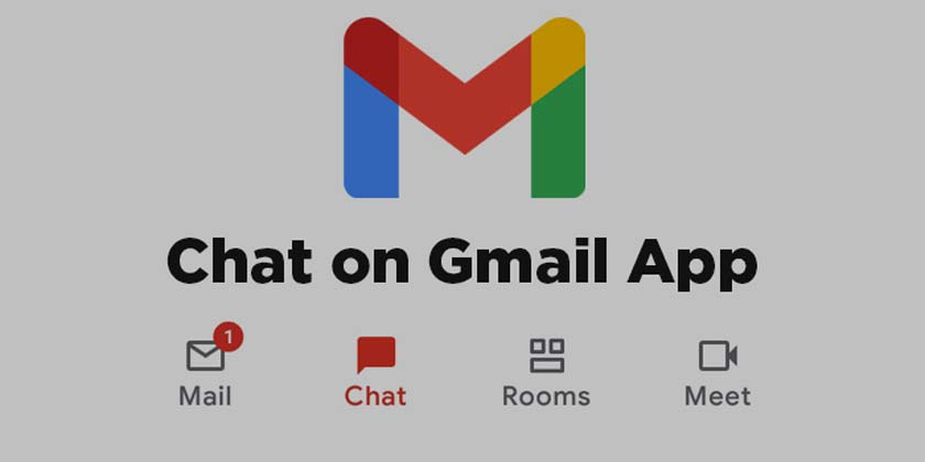 How to access Chat and Rooms in advance in Gmail