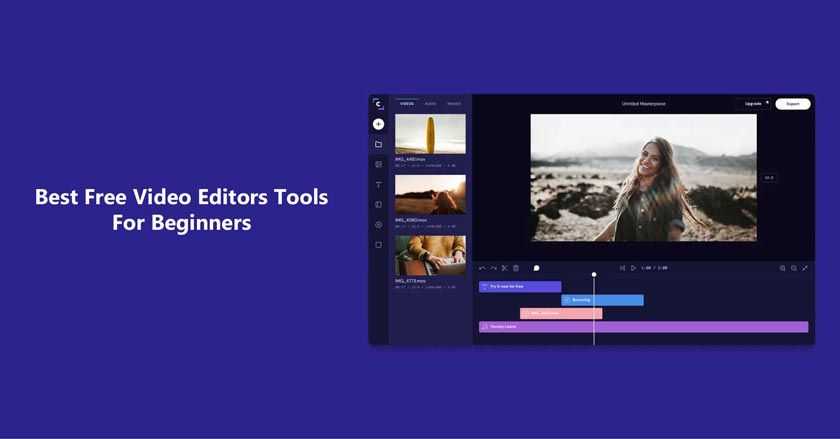 10 Best Free Video Editors Tools For Beginners