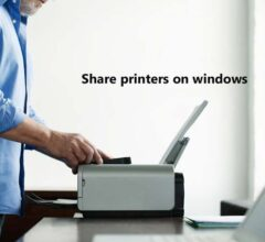 How to Share Printers on Windows