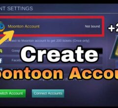 How to Create a Moonton Account