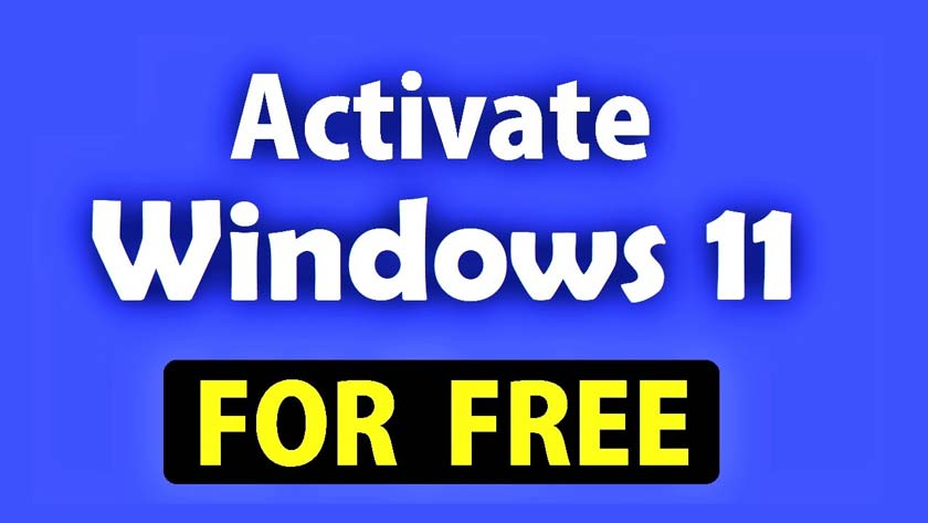 Steps to Activate Windows 11