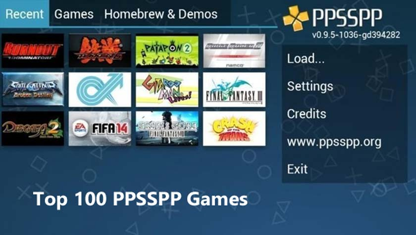 Top 100 PPSSPP Games Currently to Download