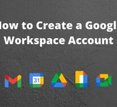How to Create a Google Workspace Account