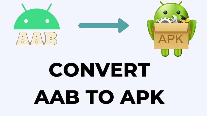 How to Convert AAB File to APK