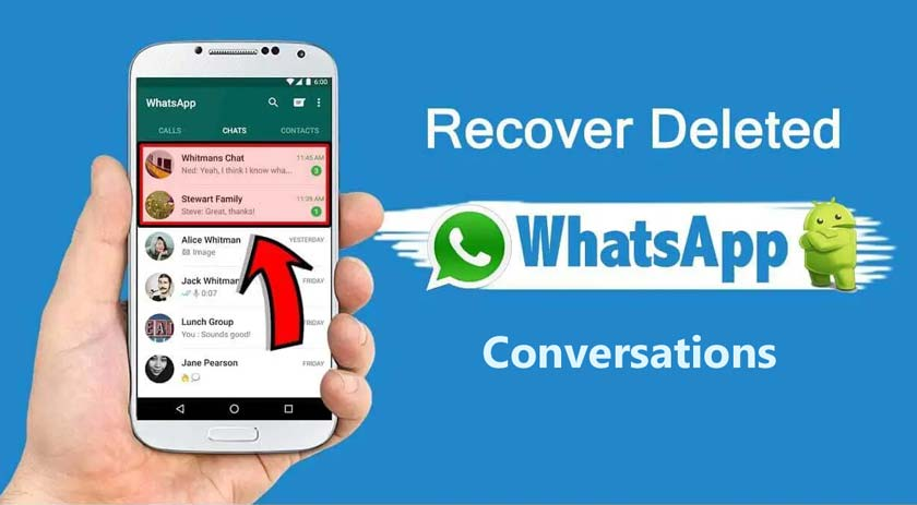 How to Recover Deleted WhatsApp Conversations