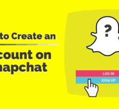 How to Register or Create an Account on Snapchat