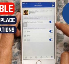 How to Turn off Facebook Marketplace Notifications