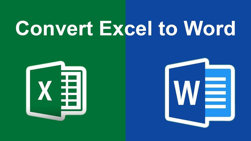 Convert Excel to Word