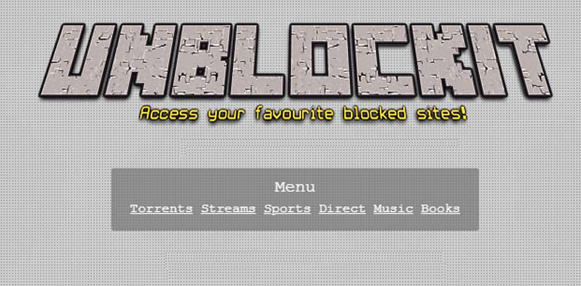 Access Any Site Blocked With Unblocked (UnblocKit)
