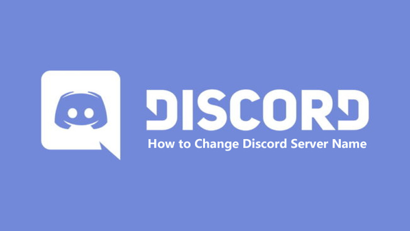How to Change Discord Server Name