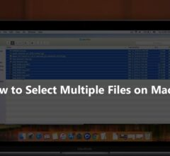 How to Select Multiple Files on MacOS