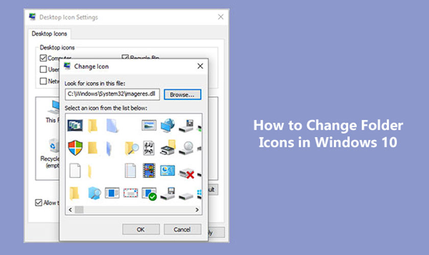 How to Change Folder Icons in Windows 10