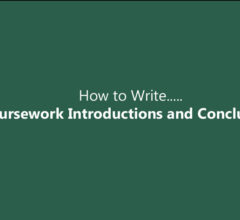 How to Write Coursework Introductions and Conclusions