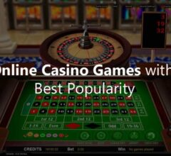 Online Casino Games with the Best Popularity